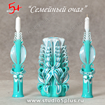 свечи Тиффани - 3 в наборе