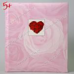 Свадебной альбом сердце из роз