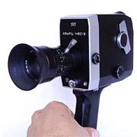 Старая кинокамера
