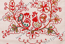 рушник - национальное украшение русской свадьбы