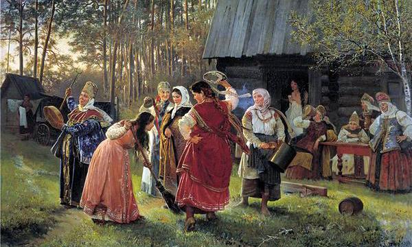 Сватовство на Руси