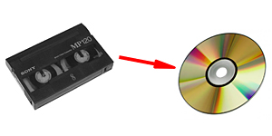 Оцифровка кассет Hi8, digital-8