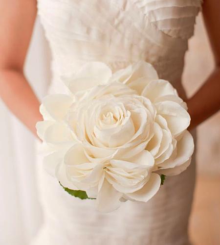 Свадебный букет невесты Гламелия