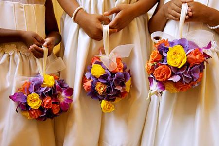 Букет невесты шар