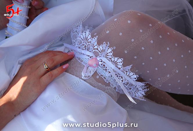 Свадебная подвязка для невесты - эротический аксессуар