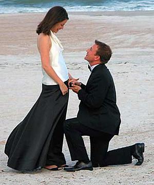 помолвка молодых людей