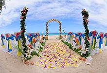 выездная регистрация бракосочетания на берегу