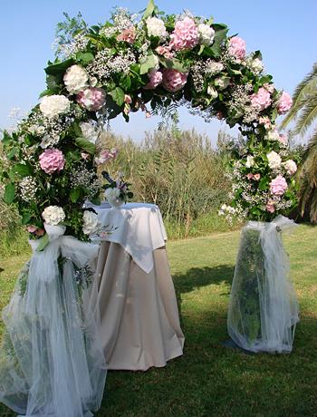 свадебная арка для регистрации брака фото